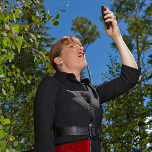 When Hiking in the Backcountry, Your Cell Phone Won't Work!