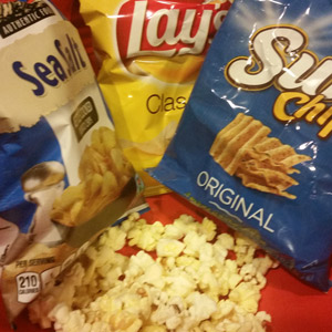 yummy salty snacks