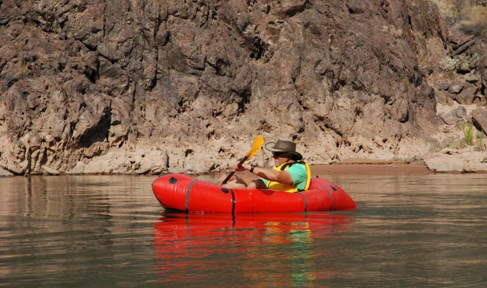 Grand Canyon Rim to Rim Packrafting